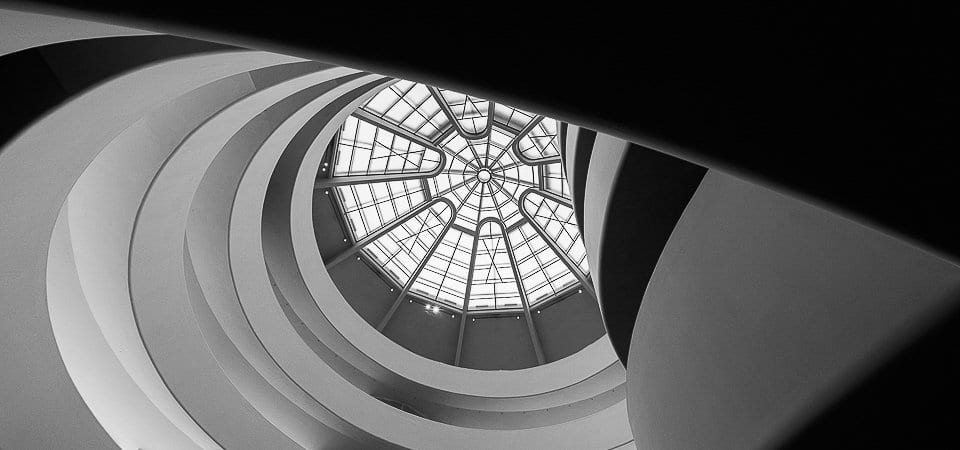 guggenheim museum, frank lloyd wright